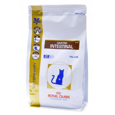 "Royal Canin ""Gastro Intestinal GI-32"" корм для кошек лечение ЖКТ"
