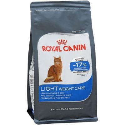 """Royal Canin """"Light weight care"""" корм для кошек склонных к полноте"""