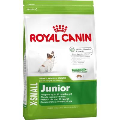 """Royal Canin корм для щенков карликовых пород """"X-Small Junior"""""""