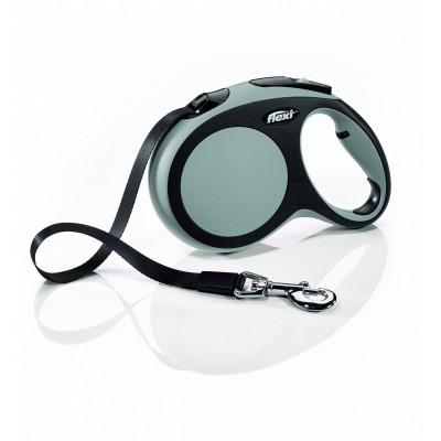 Flexi New Comfort L рулетка-ремень серая 5м/60кг