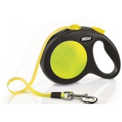 Flexi Neon L рулетка-лента 5м/50кг