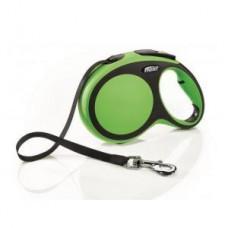 Flexi New Comfort L рулетка-ремень зеленая 5м/60кг
