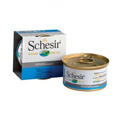 """Schesir корм для кошек """"Тунец в собственном соку"""""""