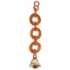 Игрушка для птиц деревянные кольца