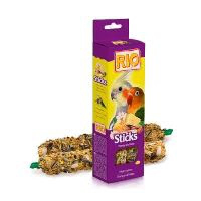 Rio палочки для средних попугаев с мёдом и орехами