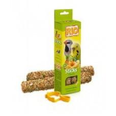 Rio палочки для волнистых попугайчиков и экзотов с тропическими фруктами