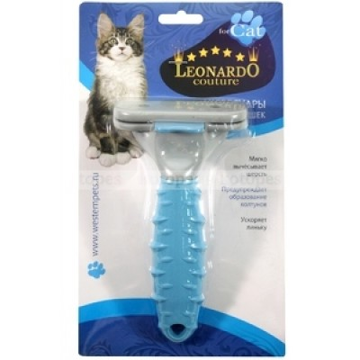 Дешеддер для кошек Leonardo