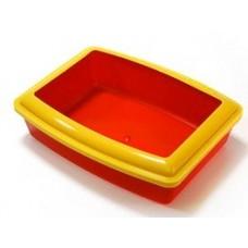 Туалет для кошек глубокий с бортиком Вака 30*42 см