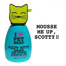 Pet Head клубнично-лимонадный шампунь-мусс без смывания для кошек