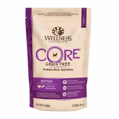 Корм Wellness CORE для котят с индейкой и лососем